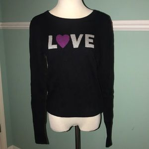 "Old Navy ""LOVE"" Crew-Neck Sweater"